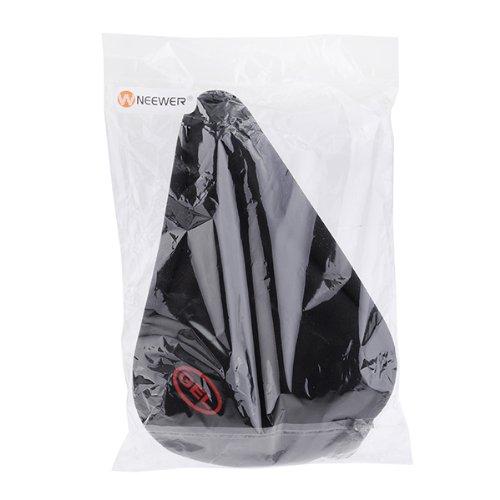 Neewer® Black Silicone Bike Bicycle Sponge and Silicon Saddle Seat Cover Cushion Pad