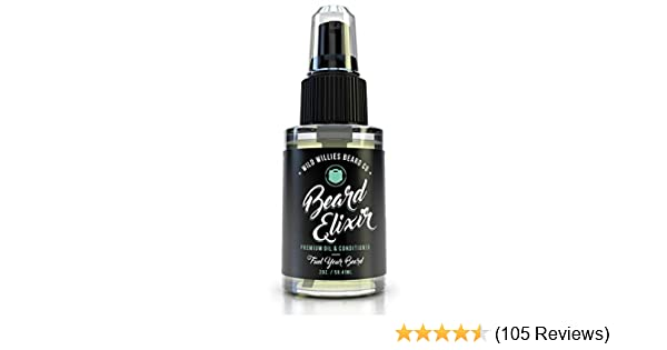 Amazoncom Wild Willies Cool Mint Beard Oil For Men Made With 10