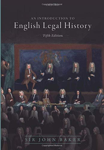 Introduction to English Legal History by Oxford University Press
