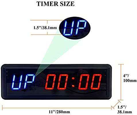 Counter up// down bench top clock counter