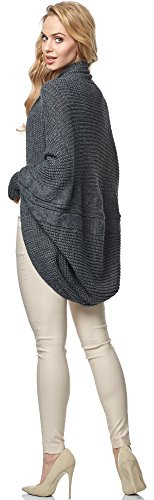 MSSE0025 Cardigan Femme pour Style Graphite Merry zPZqIwP