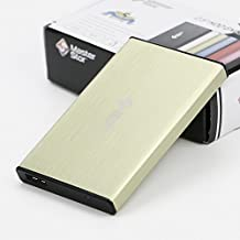 MasterStor Portable Hard Drive USB 3.0 Super-Fast Hard Drive for MAC, Windows and MAC Book External Hard Disk Drive Laptop, pc (2 Year Warranty) Yellow 120GB