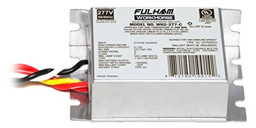 Fulham WH2-277-C WorkHorse Adaptable Ballast by Fulham Lighting