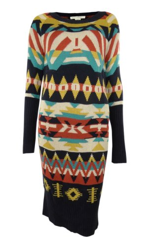 cc63c49230 Jessica Simpson Women s Aztec Sweater Dress
