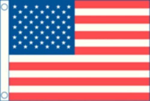New U.S. 50 Star Flag Nylon 12
