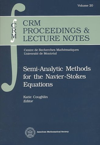 Semi-Analytic Methods for the Navier-Stokes Equations (Crm Proceedings and Lecture Notes)