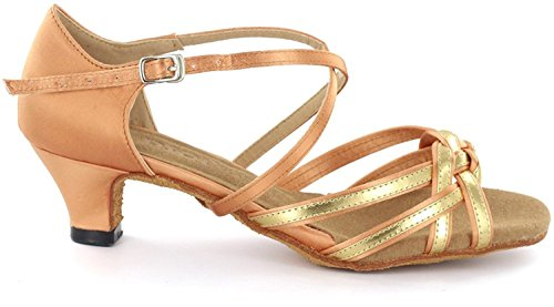Women's Dance Latin Heel 8 DSOL 3 Flesh DC1623 1 Shoes cm 7OdRqEw