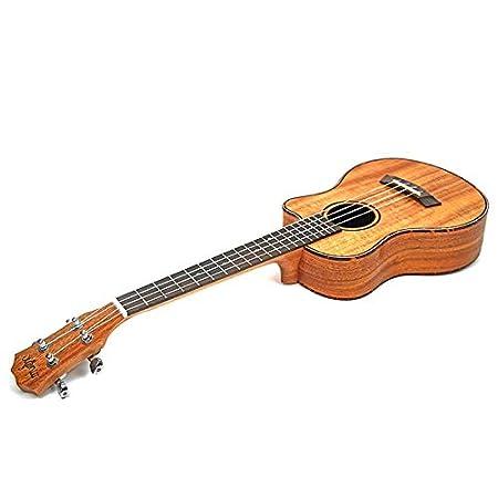 HKHJN Guitarra acústica de Viaje de Ukelele de 23 Pulgadas ...