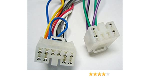 [SCHEMATICS_48IU]  Amazon.com: Factory Radio Replacement Wires That Plug into The Original  Radio from a Toyota, Sienna Van, 1998, 1999, 2000, 2001, 2002, 2003: Car  Electronics | 1998 Sienna Audio Wiring Toyota Car |  | Amazon.com