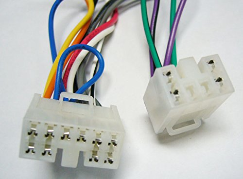 Factory Radio Replacement Wires That Plug into The Original Radio from a Toyota, Camry(Does not Have OEM Nav), 2002, 2003, 2004, 2005, 2006