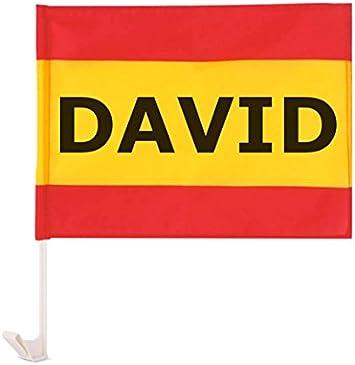 Regalo Original Bandera de España para el Coche Personalizada con ...