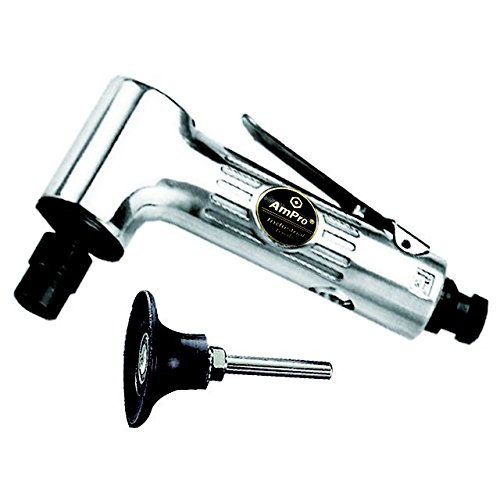 Ampro A3028 Gearless Angle Head Die Grinder and 2-Inch Angle (2