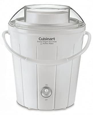 Cuisinart Classic Ice-25 Frozen Yogurt, Ice Cream, and Sorbet Maker