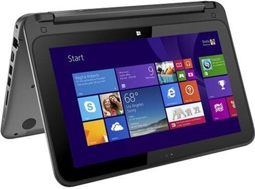 HP Pavilion x360 2-in-1 Convertible 11.6-Inch Touch-Screen Laptop (Intel Quad-Core Pentium N3520...