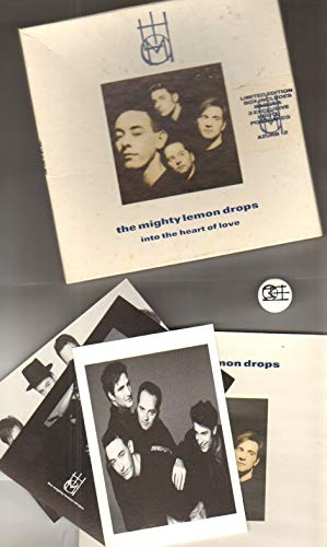 MIGHTY LEMON DROPS - INTO THE HEART OF LOVE - 7 inch vinyl / - Heart Lemon Drops