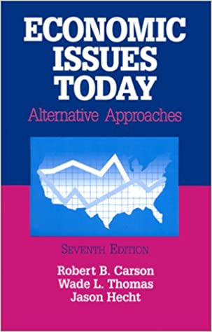 Economic Issues Today Alternative Approaches Amazonde Robert B