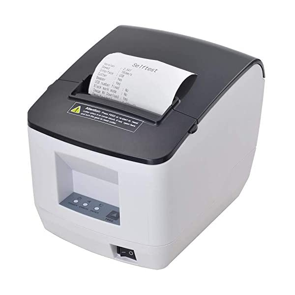Xprinter XP320V 80mm USB + Bluetooth Thermal Printer with Auto Cutter. New Model. 1