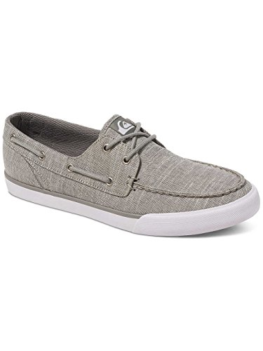 Quiksilver Spar - Zapatos para Hombre, Color: GREY/BLACK/WHITE, Talla: 12(45)