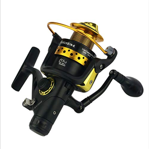 XIAMEND Spinning Reels Bearing 13 + 1BB Peso Ligero Ultra Suave Potente Spinning Rounding Fishing Carretes (Size : KV70)
