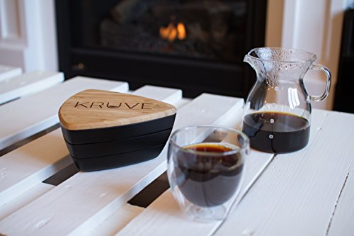 KRUVE Sifter Six Helps Accurately Measure, Calibrate, Refine Coffee Grinds, Great for Cafes, Baristas, Or Home Brewers, 6 Sieves, Black by KRUVE (Image #4)