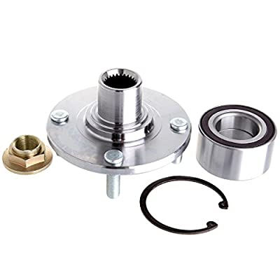 Ineedup Hub and Wheel Bearing Front 518510 Replace for 2000_2011 Ford Focus: Automotive