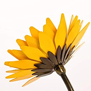 Personalized Hand-Forged Wrought Iron Sunflower - Valentine's Day Gift 4