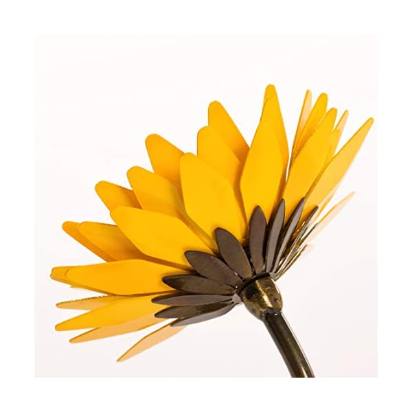 Hand-Forged Wrought Iron Sunflower – Mother's Day Gift