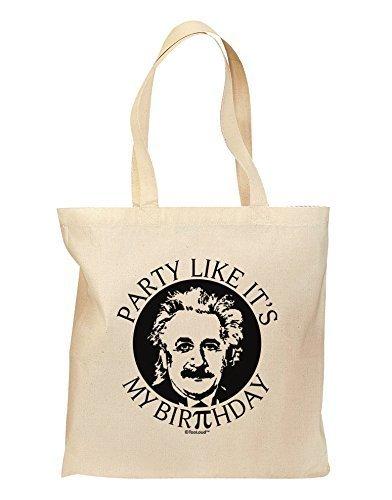 Tooloud Pi Day - Sac d'épicerie Design d'anniversaire einstein - Naturel de