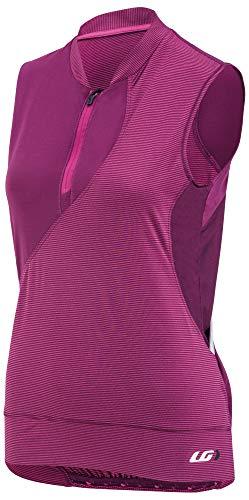- Louis Garneau Women's Stella Bike Top, Magenta Purple, Small