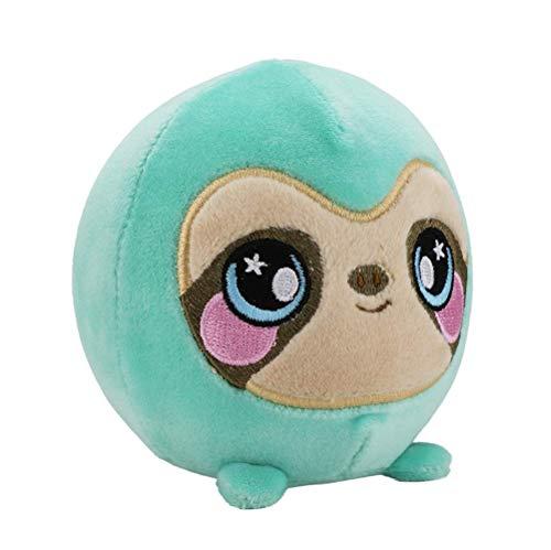 SQUEEZAMALS, Samantha Sloth - 3.5 Super-Squishy Foam Stuffed Animal! Squishy, Squeezable, Cute, Soft, Adorable!