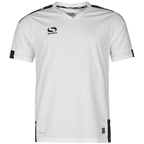 f6eded34237 Sondico Mens Training Jersey Lightweight Short Sleeve Football Summer Top:  Amazon.co.uk: Clothing