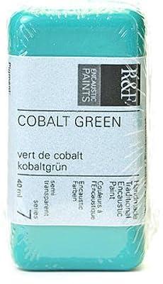 R & F Handmade Paints Encaustic Paint (Cobalt Green) 1 pcs sku# 1842360MA