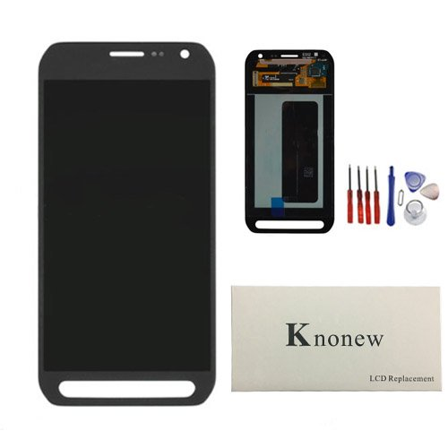 KNONEW LCD Display Touch Screen Digitizer Assembly Replacement part For Samsung Galaxy S6 Active G890 G890A Tools (Grey) by SCREENHOME