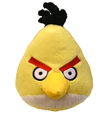 Angry Birds Plush 5-inch Yellow Bird With Sound by Commonwealth Toy