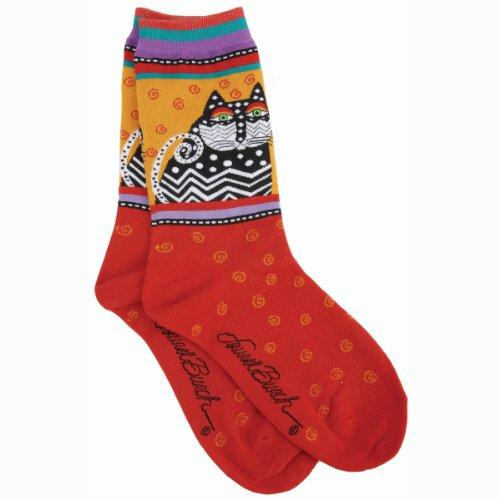 K Bell Womens Polka Socks
