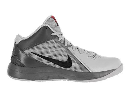 Nike Mens The Air Overplay Ix Scarpa Da Basket Lupo Grigio / Nero / Grigio Scuro / Uni Rosso