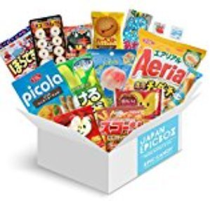 Japanese Candy Assortment - Premium Selection of Candy and Snacks Imported from Japan - DIY, Gummy, Sours, Sweets, Crackers - 'Japan Epic Candy' (Original)