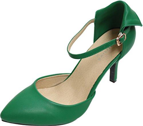 CFP - Zapatos de tacón  mujer Verde Oscuro