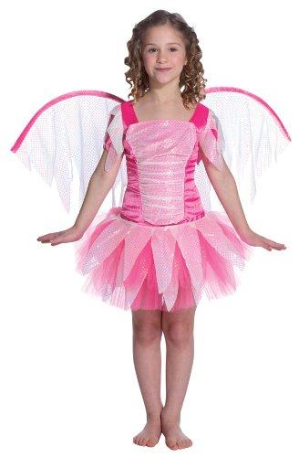 Pink Fantasy Fairy Child Costume (Costume Fairy Rasta Imposta)