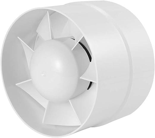 Winbang Ventilador Extractor, Ventilador de conducto silencioso Extractor en línea Ventilador de Tubo Ventilador Extractor de baño 6
