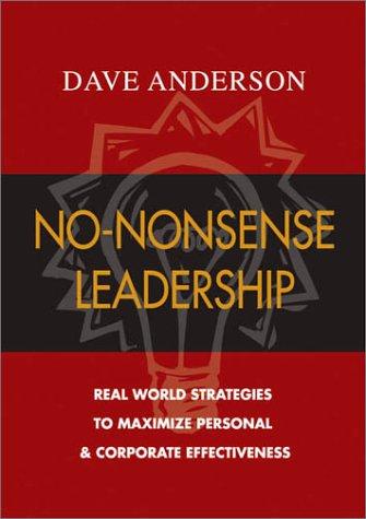 No Nonsense Leadership Strategies Corporate Potential