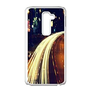 City night street scenery Phone Case for LG G2