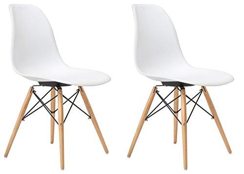 Merax Luxurious Chairs Plastic Natural