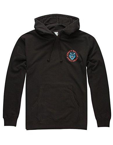 Santa Cruz Mens Screaming Hand Hoody Pullover Sweatshirt Large Black