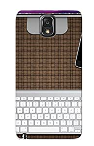 Defender Case For Galaxy Note 3, Apple Desk Pattern, Nice Case For Lover's Gift
