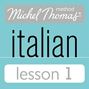 Michel Thomas Beginner Italian Lesson 1 Audiobook