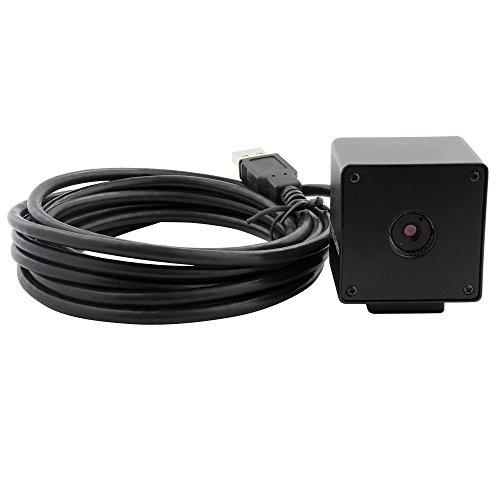 ELP 5mp Black Box Micro Mini USB Camera.pc Camera for Laptop Desktop Pc (Best Camera For Opencv)