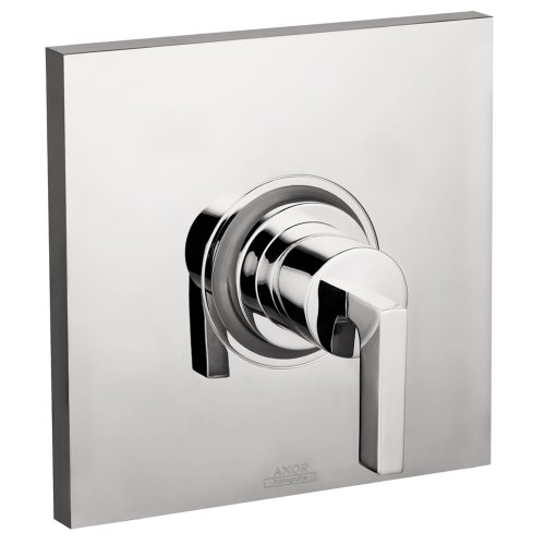 Axor 39414001 Citterio Pressure Balance Trim  with Lever Handle in Chrome