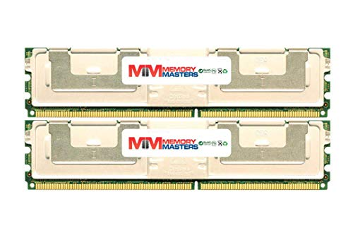 MemoryMasters Dell Compatible SNPM788DCK2/16G 16GB (2 x 8GB) PC2-5300 ECC Fully Buffered FBDIMM Memory for DELL PowerEdge 1950 III