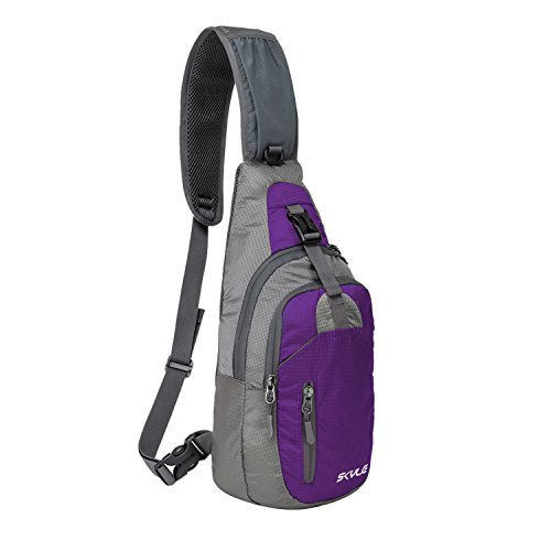 Coreal Brust Sling Bag Schulter Crossbody Wandern Rucksack Sport Fahrrad Ungleichgewicht Gym Daypacks Multipurpose Tagepacks Herren Damen